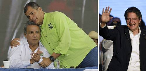 """Indígenas y sindicalistas impulsan """"voto de rechazo"""" al oficialismo en Ecuador"""