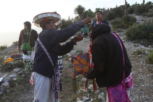 Con ceremonia en Wirikuta culmina la primera etapa de lucha contra mineras