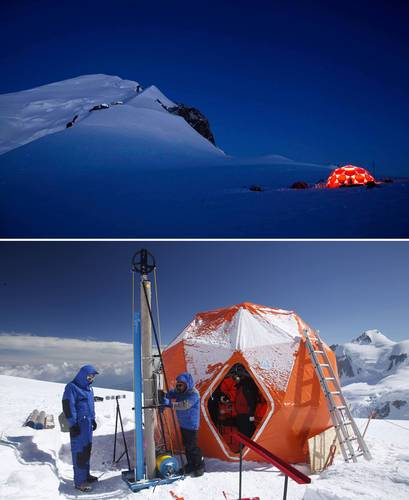 Archivan hielo de monte boliviano con 18 mil años de información del clima