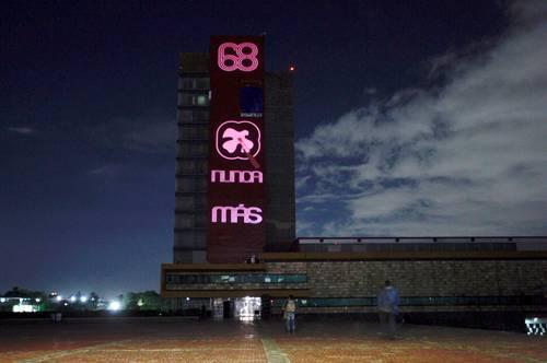 La Jornada: Nunca más, mensaje de la UNAM este 2 de octubre