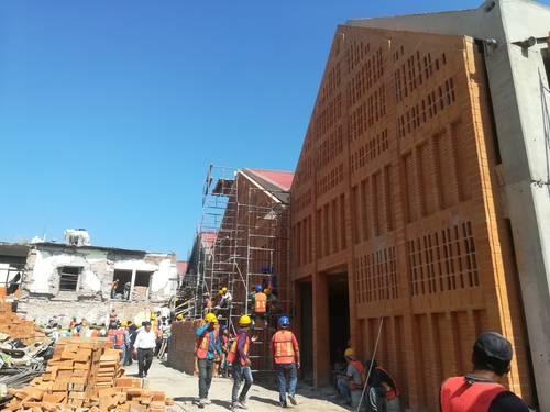 Reabrirán en 2 meses mercado de Juchitán, devastado por terremoto II