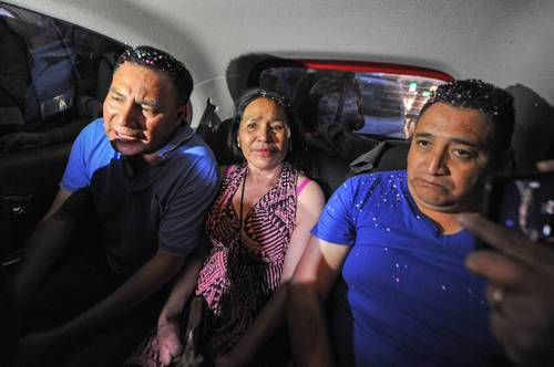 Liberan a tres pobladores de Tlanixco, presos por 11 años