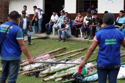 Indígenas y Bogotá se acusan por explosión que causó ocho muertos