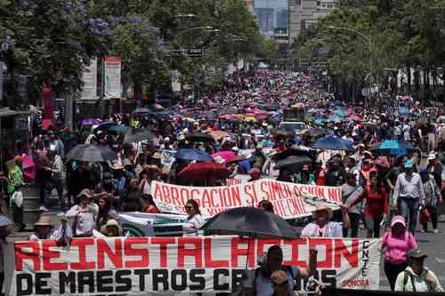 La reforma no cumple la promesa de abrogación, lamenta la CNTE<br>