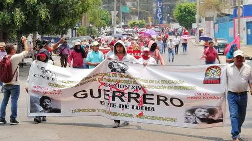 Abrogación de la reforma educativa, exigen en Chiapas, Oaxaca y Guerrero