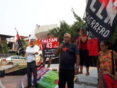Conmemoran 52 años de la represión en Atoyac, Guerrero