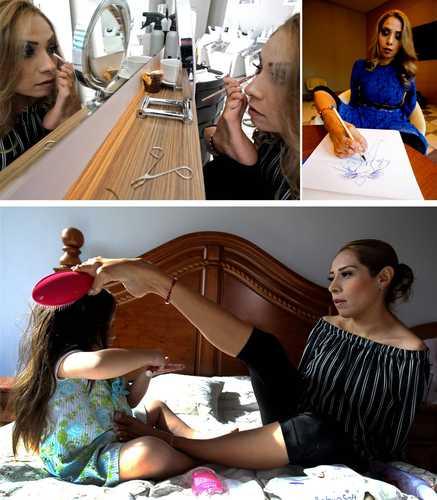 4a6a5e07 La Jornada: Adriana Macías, una diseñadora mexicana que superó su  discapacidad con estilo