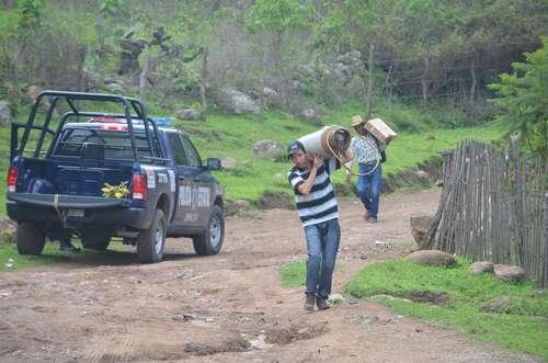 Sinaloenses desplazados piden ayuda a ONU y GN