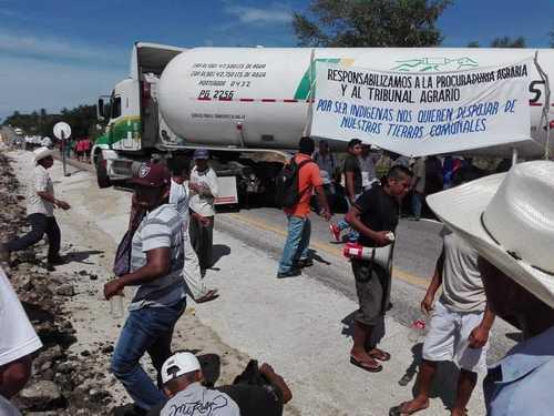 Tilzapote: amagan con demoler edificios por disputa agraria