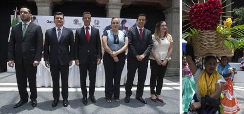 Anuncia Murat fiesta de la Guelaguetza, símbolo de la tradición oaxaqueña
