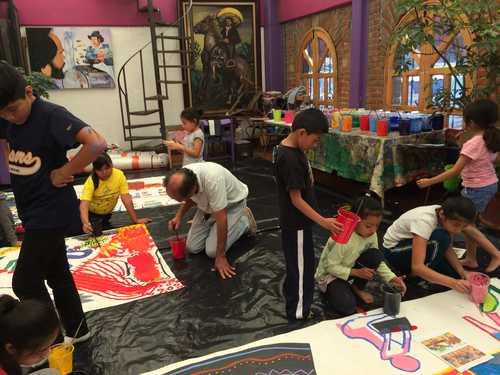 La Escuelita Emiliano Zapata, gran proyecto cultural del Pedregal de Santo Domingo