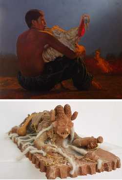 Muestran arte contemporáneo indígena de creadores de Chiapas