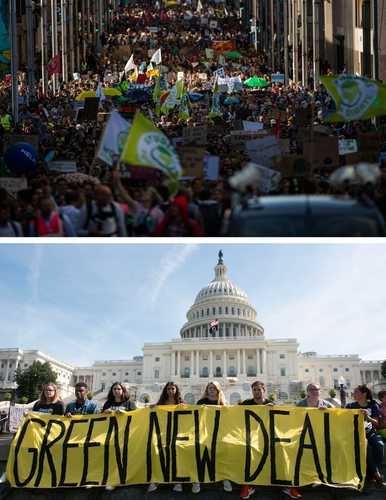 Más de 4 millones participan en el orbe en la protesta contra el cambio climático