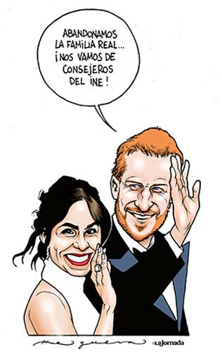 Harry y Meghan - Helguera
