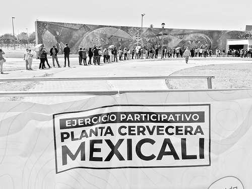 <br>Inicia consulta en Mexicali sobre operación de cervecera