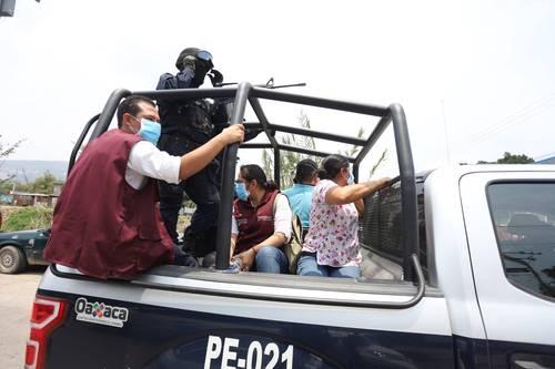 Agreden a brigadistas de salud en Oaxaca