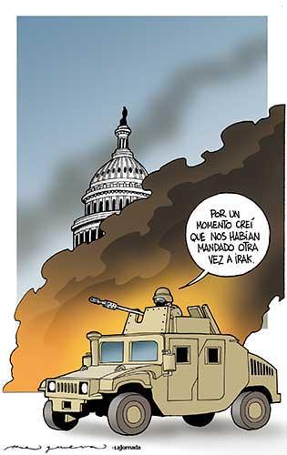 Ejército invasor -Helguera