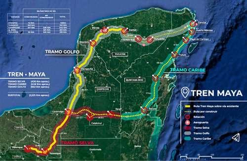 Apoyan el Tren Maya 64 comunidades indígenas, asegura comisario local