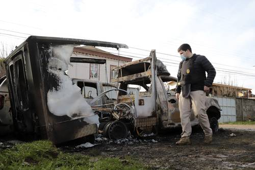 <br>Enfrentamientos en la Araucanía agravan conflicto indígena en Chile