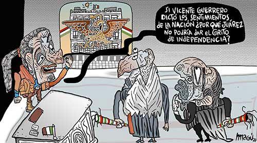 Independencia juarista - Magú