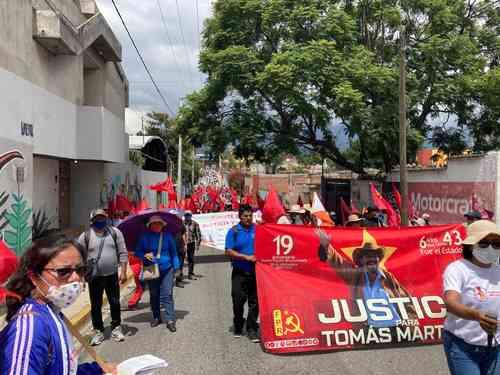 Movilización en Oaxaca exige justicia y verdad