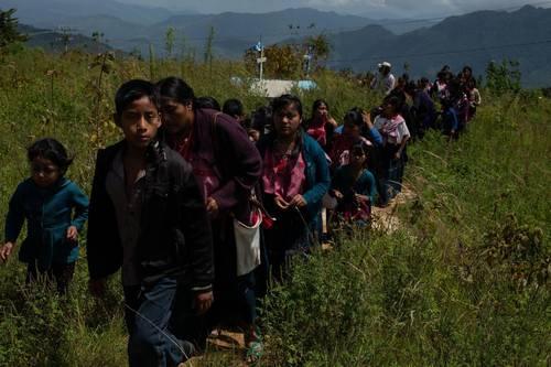 Llama CIDH a tomar medidas urgentes ante la agresión a caravana en Chiapas