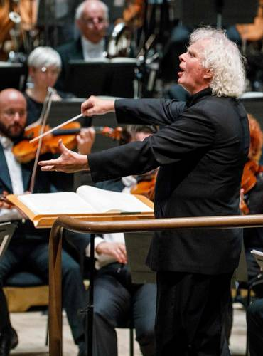 """Sobre los motivos que lo llevan a liderar la Orquesta Sinfónica de la Radio de Baviera, el conductor refirió que las razones son """"completamente personales""""."""