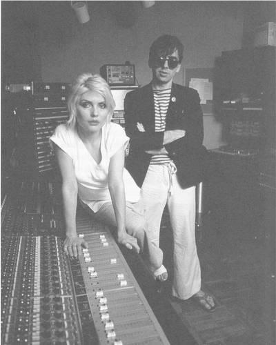 Los integrantes de Blondie, Debbie Harry y Chris Stein.