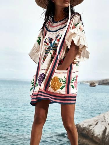Usuarios de redes sociales revierten plagio de diseño textil mazateco