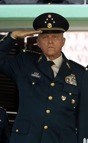 El general Salvador Cienfuegos, el 6 de noviembre de 2018, cuando era titular de la Secretaría de la Defensa Nacional.