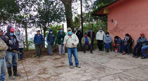 <br>Ejidatarios bloquean mina de manganeso en Hidalgo