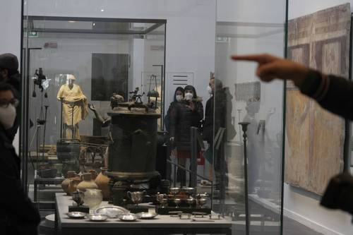 Renace el museo de Pompeya para exponer exquisitos descubrimientos arqueológicos