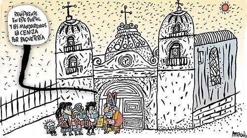 MIÉRCOLES DE CENIZA Y NUEVA NORMALIDAD