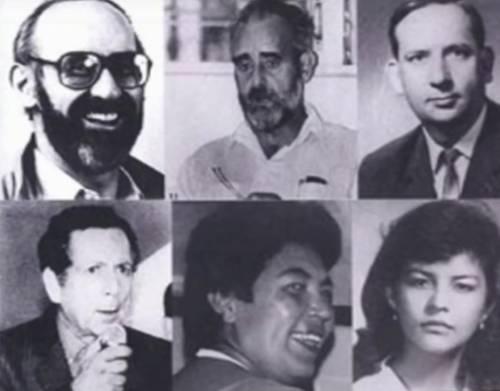 Algunos de los asesinados Foto
