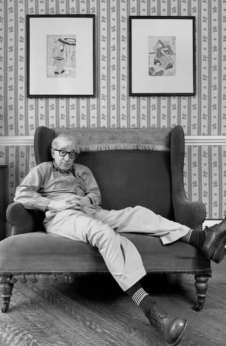 El cineasta, fotografiado por Diane Keaton.