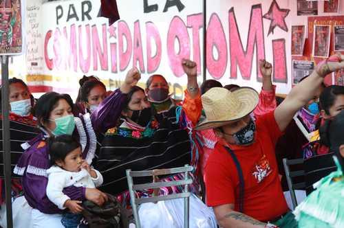 Las indígenas, en pie de lucha por sus derechos