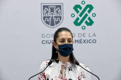 La jefa de Gobierno de la Ciudad de México, Claudia Sheinbaum Pardo, instó a quienes regresaron de vacaciones a hacerse la prueba para detectar el Covid-19 y evitar más contagios.