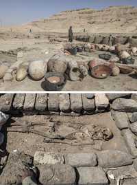 Descubren cerca de Luxor una ciudad de artesanos de más de 3 mil años