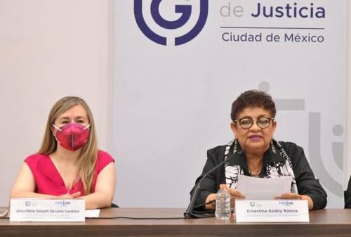 La Fiscalía Especializada para la Atención de Delitos Electorales garantizará que los comicios sean libres de coacción y de violencia, afirmaron Alma Elena Sarayth de León Cardona y Ernestina Godoy Ramos.