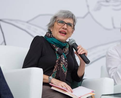 """En entrevista, Petrich relata su encuentro con la comandante Ramona en 1994, durante el levantamiento del EZLN en Chiapas: """"Esa historia me reveló la voz de un pueblo entero""""."""