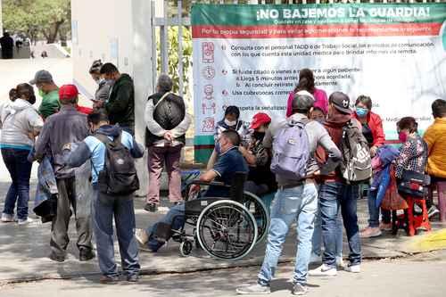 En el Venados del IMSS, en la CDMX, la ocupación subió de 17 a 32 por ciento el fin de semana.