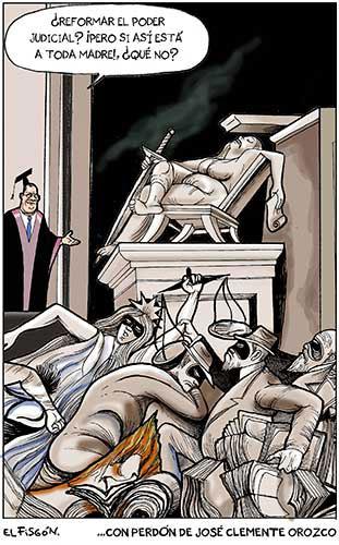 LA JUSTICIA EN MÉXICO