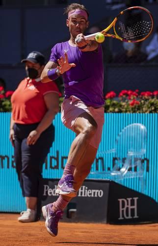 El tenista balear intentaba llegar a su semifinal 75 en un torneo Masters. Ahora Zverev enfrentará a Dominic Thiem por el boleto a la final del torneo español.