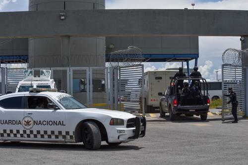 Luis Cárdenas Palomino, ex mando de la PF, fue trasladado al penal de El Altiplano en Almoloya de Juárez tras ser aprehendido en Naucalpan.
