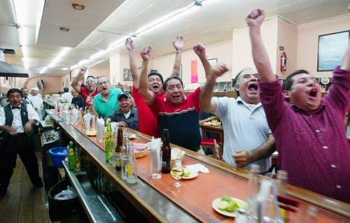 La cantina Nuevo León abrió sus puertas.
