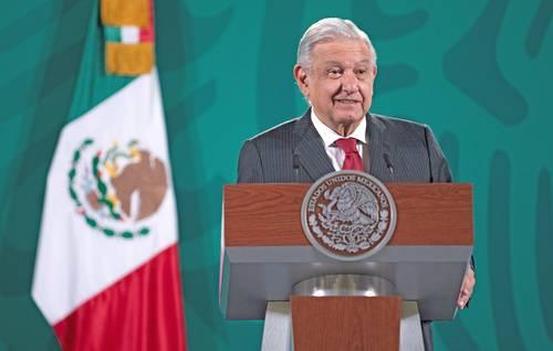 El presidente López Obrador dijo que este mes estará lista la iniciativa para fortalecer a la CFE.