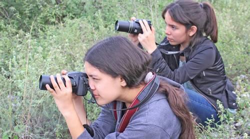 Fotogramas de Mariposas azules del Cerro Topo Chico. Foto