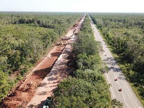 Para la construcción del Tren Maya, Fonatur recibirá 62 mil 942 millones de pesos.