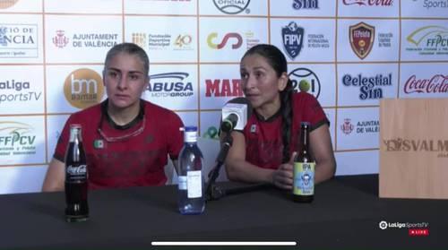 Castillo y Hernández vencieron a las españolas Miriam Basilio y María Rodríguez.