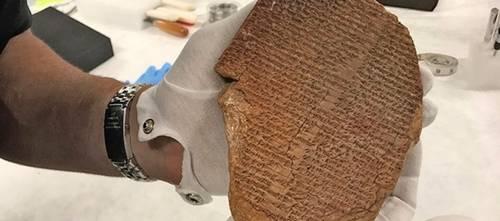 Restitución de EU a Irak de la Tabla de Gilgamesh, culminación de décadas de cooperación: Unesco